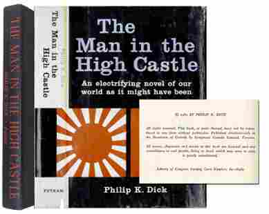 """First Edition of """"The Man in the High Castle"""" by Philip"""