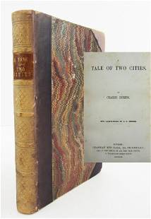 """Charles Dickens, First Printing, First Issue """"A Tale of"""