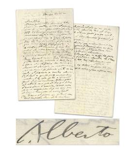 """Alberto Giacometti ALS """"there's no more ink in the"""