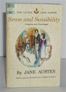 "Kerouac Personally Owned Book ""Sense and Sensibility"""