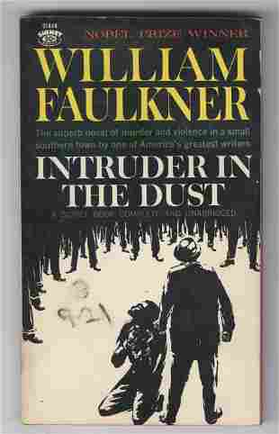 """Kerouac Personally Owned Book """"Intruder In The Dust"""","""