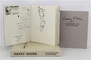 Henry Moore Signed Limited Ed. Sketchbook 1928, The