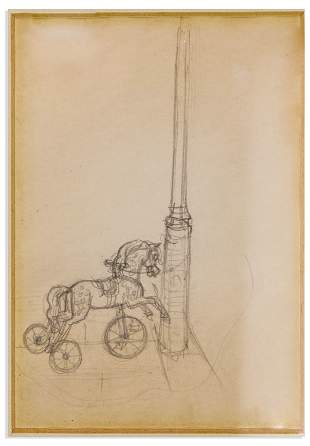 Drawing by Winnie the Pooh Illustrator Ernest H.