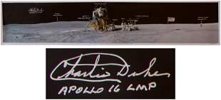 Charlie Duke Apollo 16 Landing Site Stunning Panoramic