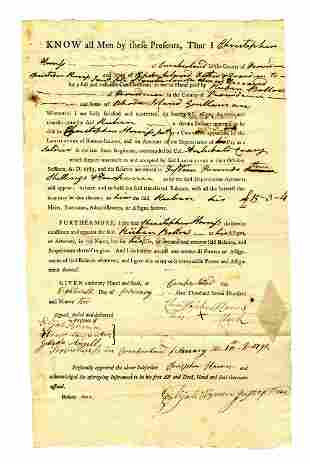 Post Revolutionary War Rhode Island Payment Document