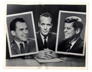 """The Great Debate"", John F. Kennedy and Richard Nixon"