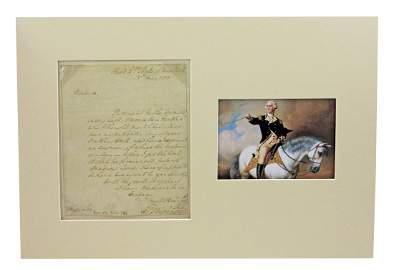 George Washington ALS As Rev War Gen