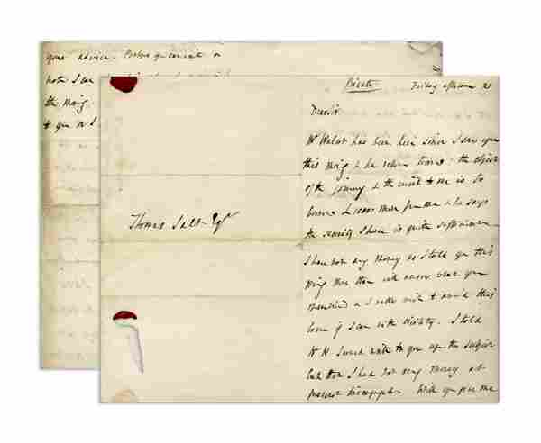 Charles Darwin's Father Writes Hoping to Avoid
