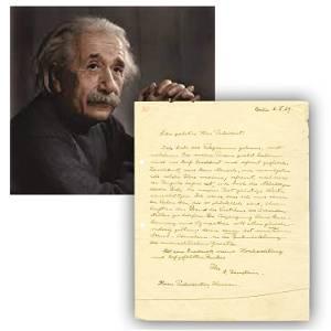 World-Class Einstein ALS to U. S. President --1 of 2 Kn