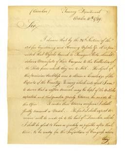 Alexander Hamilton Communication Re: Taxation on