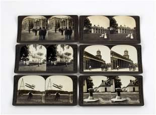 Six Vintage Stereoviews, Ca. 1920s: Mt. Vernon,