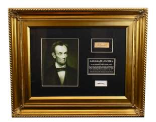 Abraham Lincoln Strands of Hair 20-40 approx.,