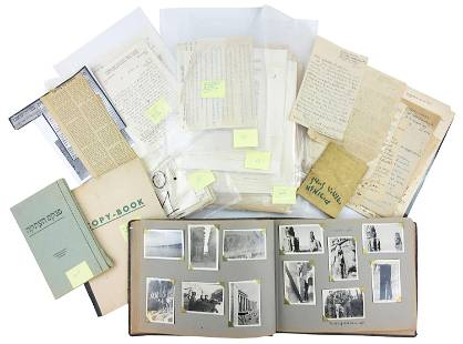 Jewish Brigade & Formation of Israel Archive Comprised