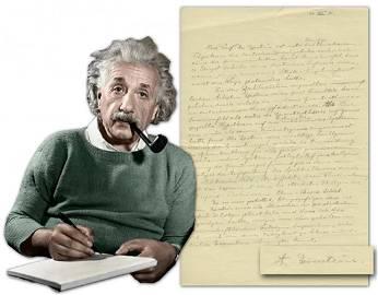 Albert Einstein Scientific ALS Re: Theory of