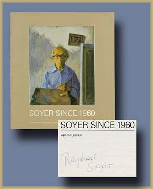 Soyer Since 1960, Attractive Exhibition Booklet Signed