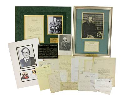 Supreme Court Archive of Signed Materials (15):
