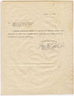 """Jimmy Carter Rare Signature as """"James Earl Carter Jr.,"""""""