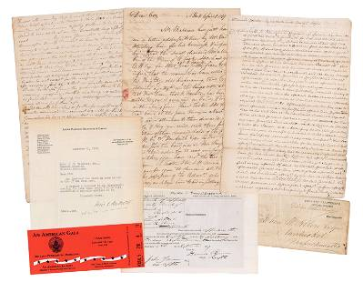 Grover Cleveland Early Signed Legal Document with