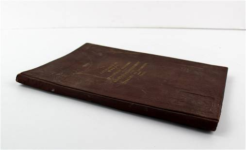 James Garfield Personally Owned Copy of Library of