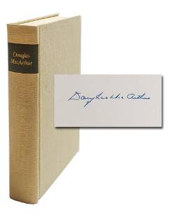 Douglas MacArthur Signed Limited Edition of his