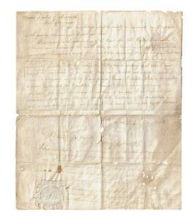 Court Document from Early 19th Century Virginia
