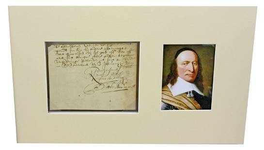 Peter Stuyvesant Scarce Document Signed in 1651