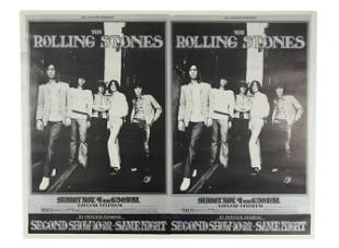 Rolling Stones 1969 Oakland Coliseum Concert Poster,