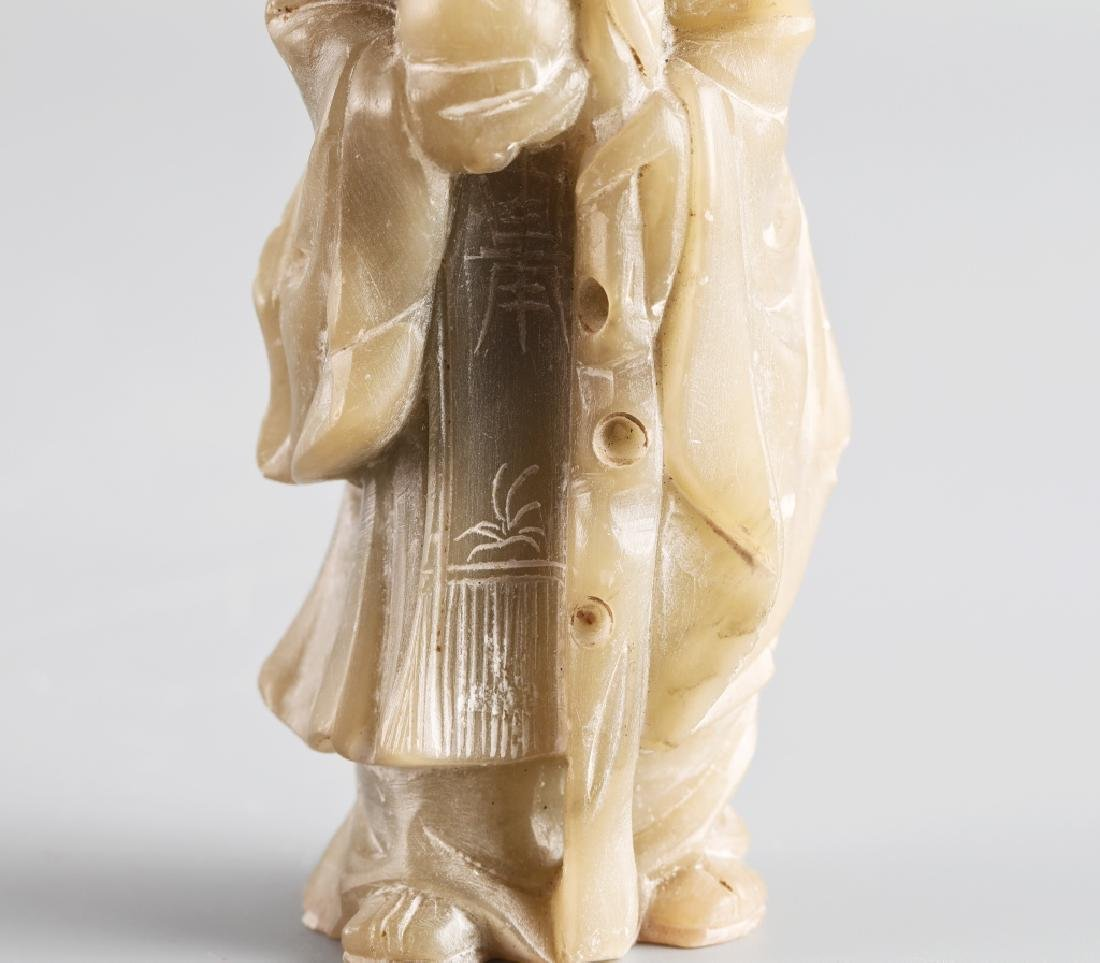 Jade carved character figure - 6