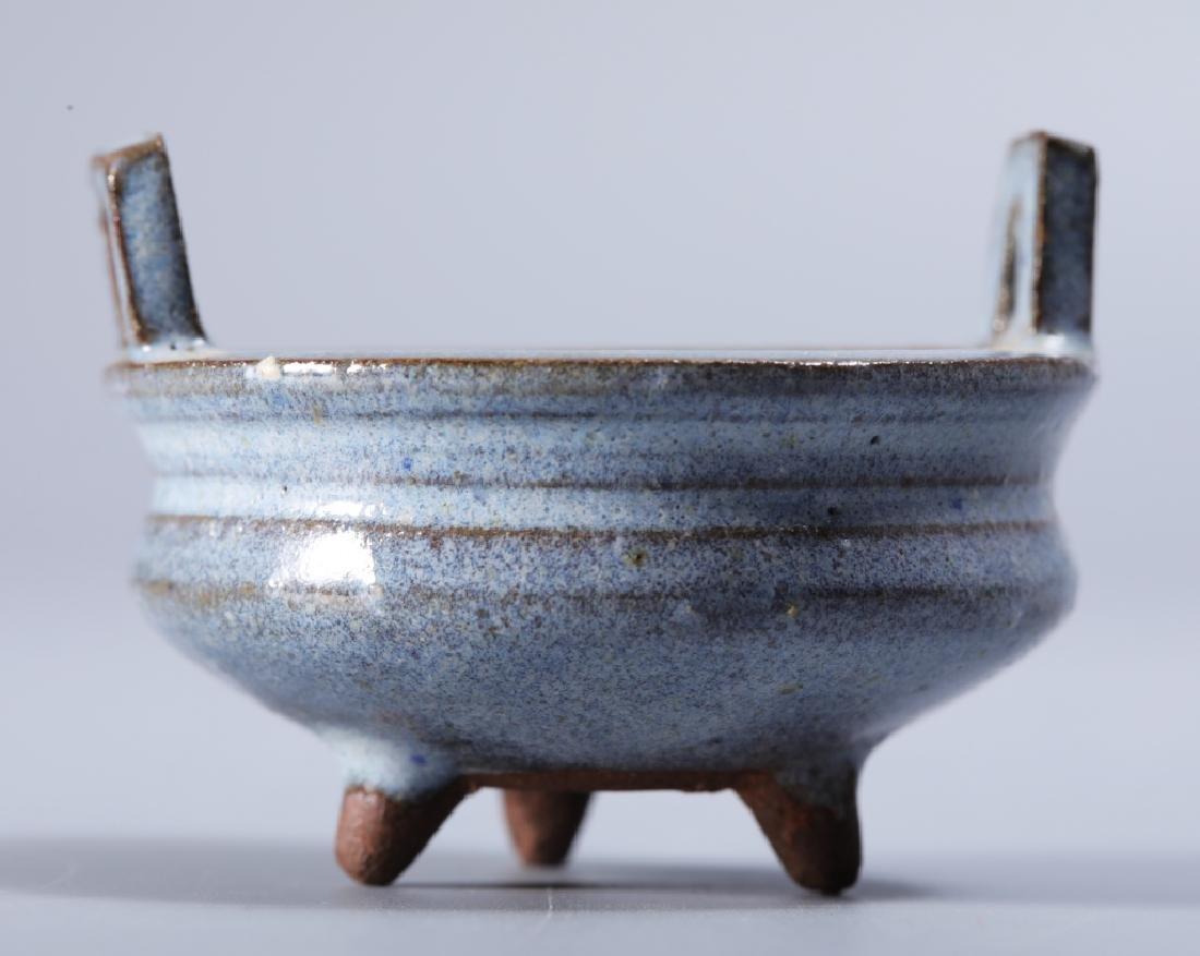 Jun kiln celeste blue glaze stove