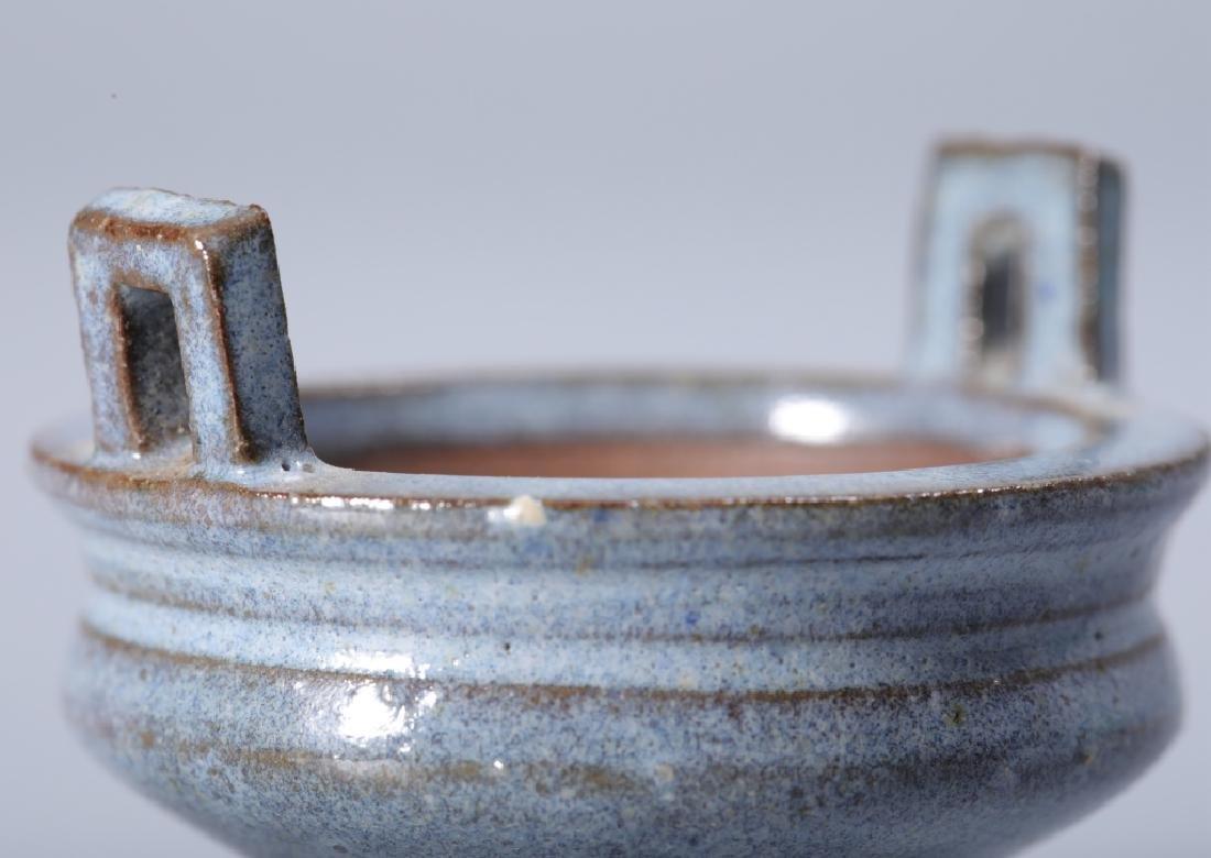 Jun kiln celeste blue glaze stove - 4