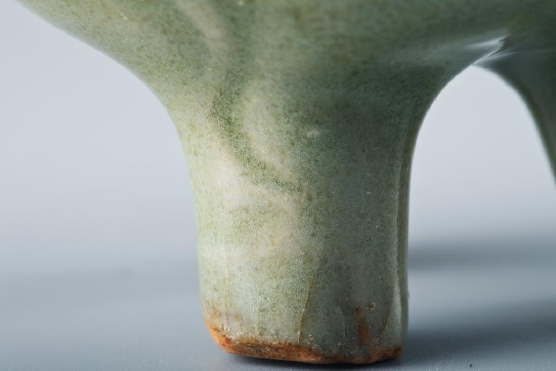 Longquan kiln flower grain Ge style censer - 6