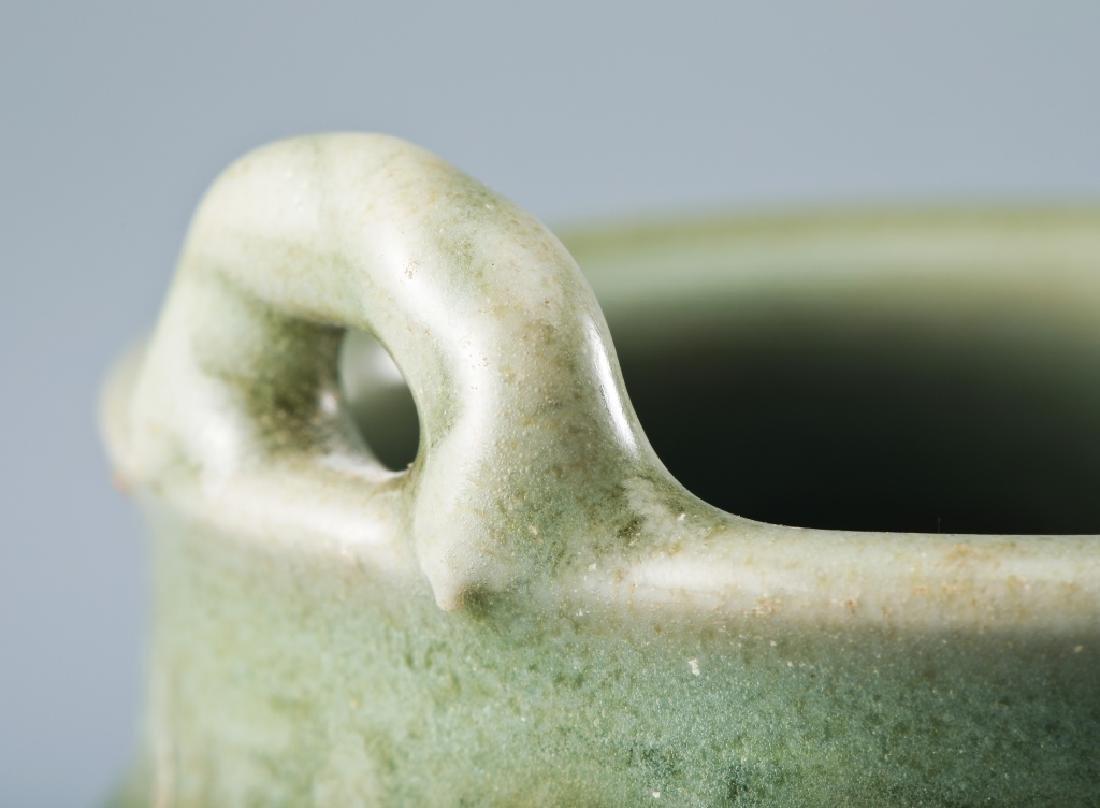 Longquan kiln flower grain Ge style censer - 9