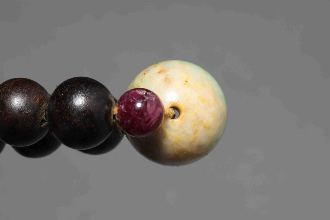 QING DYNASTY EAGLEWOOD BEADS - 10