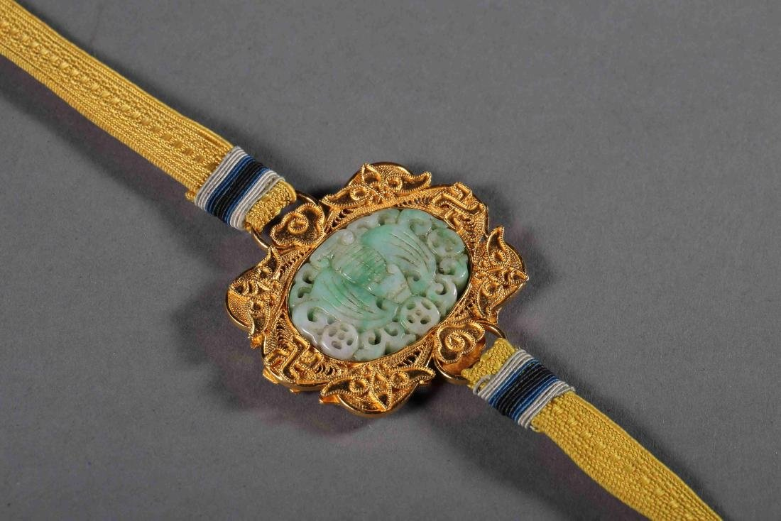 QING DYNASTY EAGLEWOOD BEADS - 7
