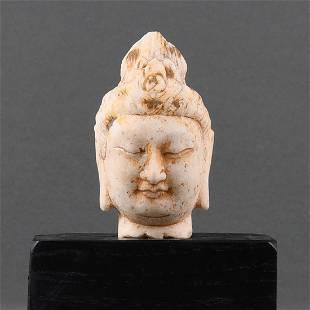 A HAN BAI YU HEAD OF BUDDHA