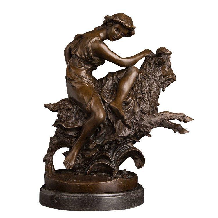 ancient greek statue Shepherd Girl