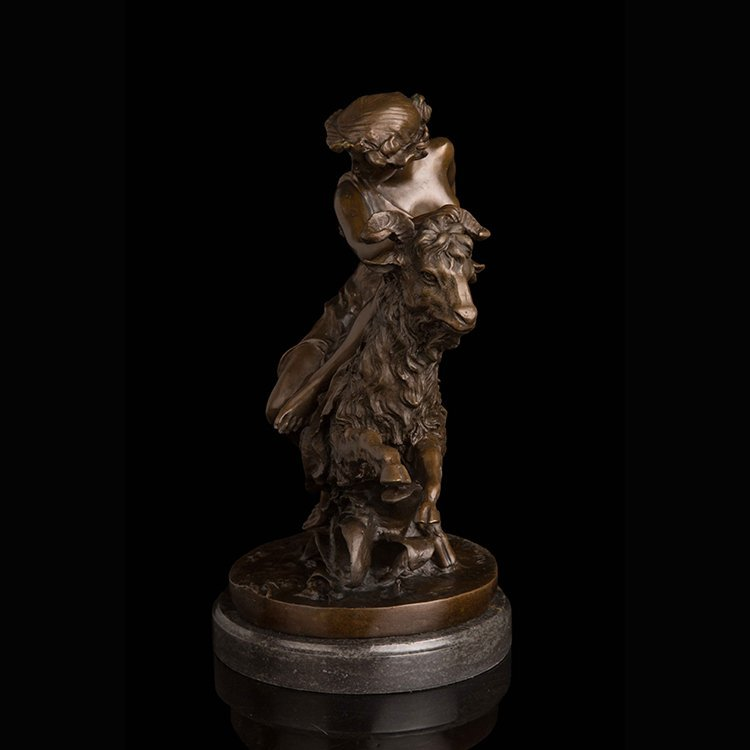 ancient greek statue Shepherd Girl - 5