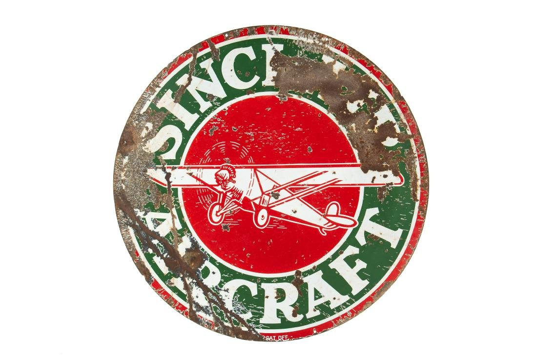 Sinclair Aircraft w/plane sign