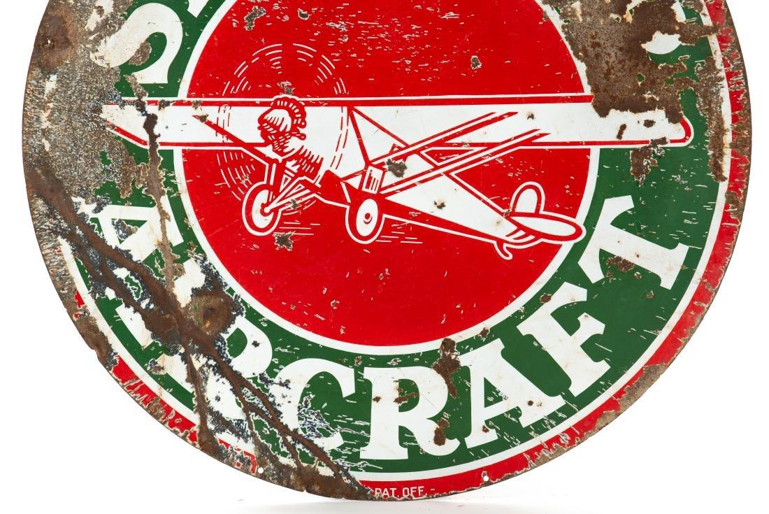 Sinclair Aircraft w/plane sign - 4