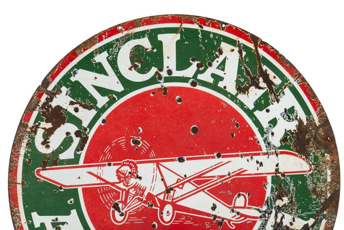 Sinclair Aircraft w/plane sign - 6