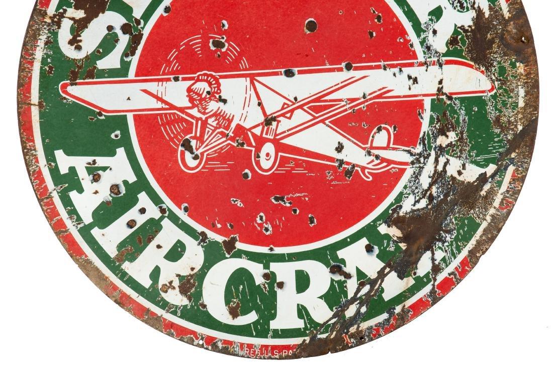 Sinclair Aircraft w/plane sign - 8