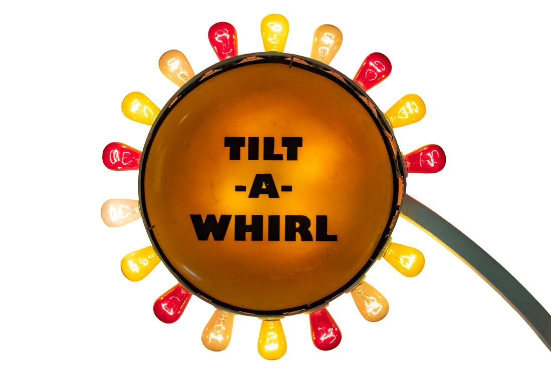 Tilt-a-whirl Lighted sign - 2