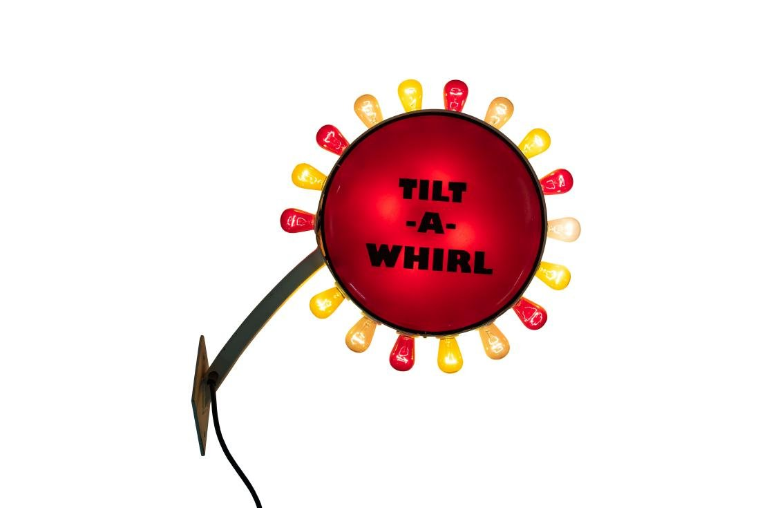 Tilt-a-whirl Lighted sign - 3