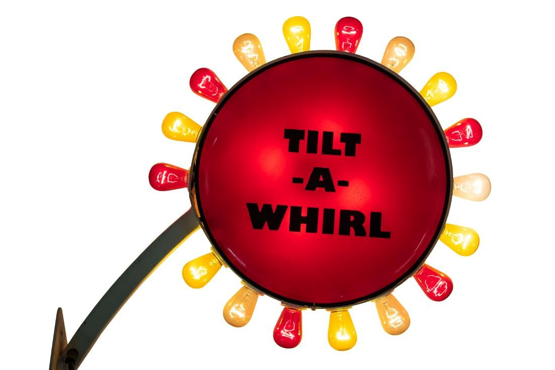 Tilt-a-whirl Lighted sign - 4