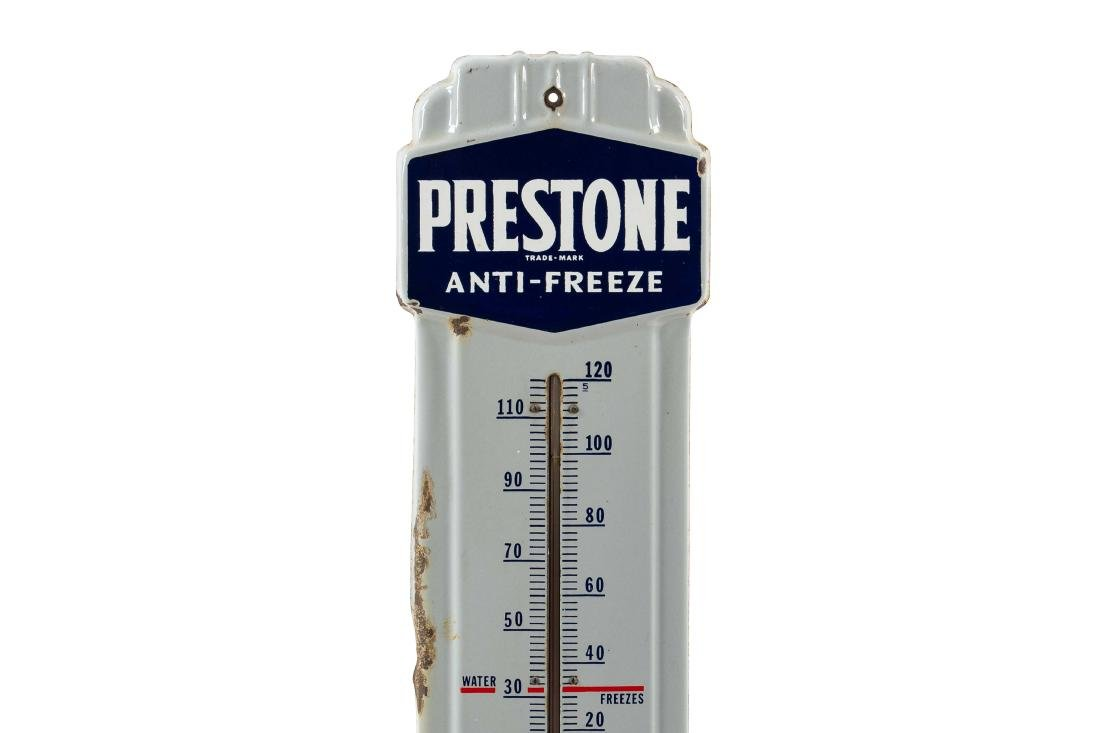 Prestone Anti-Freeze Porcelain Thermometer - 2