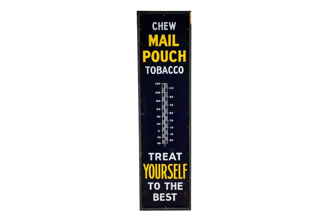 Chew Mail Pouch Porcelain Thermometer