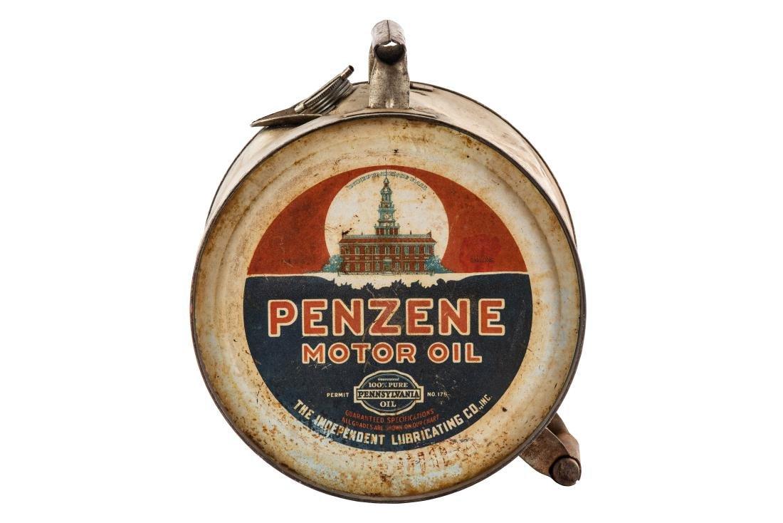 Penzene Motor Oil 5 Gallon Rocker Can