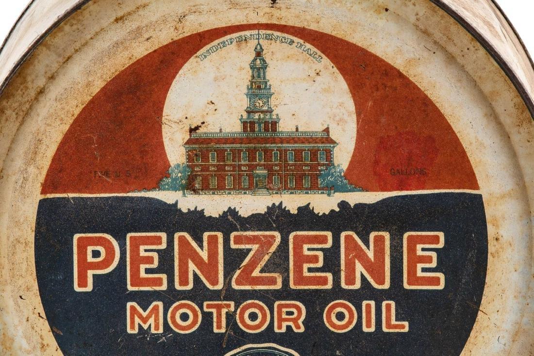 Penzene Motor Oil 5 Gallon Rocker Can - 2