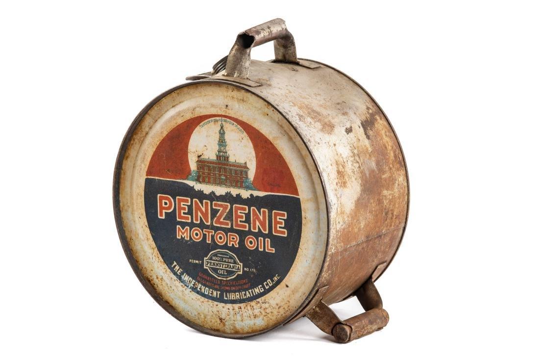 Penzene Motor Oil 5 Gallon Rocker Can - 3