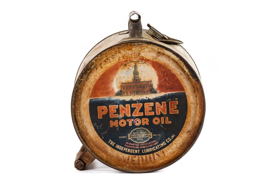 Penzene Motor Oil 5 Gallon Rocker Can - 4